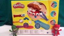 Les Pyjamasques jouent au dentiste - Pâte à modeler Le Dentiste - Play Doh Dr Drill N Fill - El Dentista Bromista