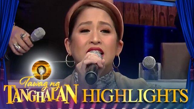 Jolina Magdangal sings her message to TNT contenders   Tawag ng Tanghalan