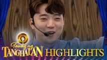Ryan Bang refuses to talk about his ex-girlfriend | Tawag ng Tanghalan