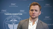 Taron Egerton, Rosamund Pike, Finn Cole, David Coulthard, Dermot O'Leary attend IWC's Silver Spitfire send-off