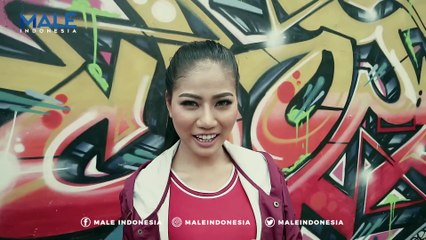 YUKIE ARIMBI di Behind the Scenes Photoshoot - Male Indonesia | Model Seksi Indo