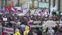 """Record de mobilisation en Russie : près de 50.000 manifestants demandent des """"élections libres"""""""