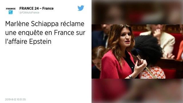 Affaire Jeffrey Epstein. Marlène Schiappa et Adrien Taquet demandent une enquête sur les ramifications françaises