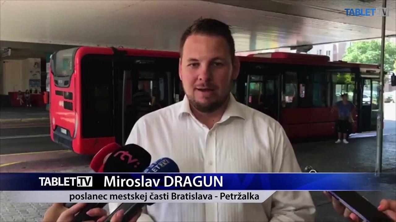 ZÁZNAM: Brífing poslanca mestskej časti Bratislava - Petržalka Miroslava Draguna