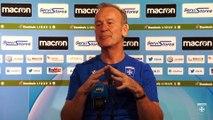 Coupe de la Ligue : La conférence de presse de Jean-Marc Furlan avant AJA-Beziers