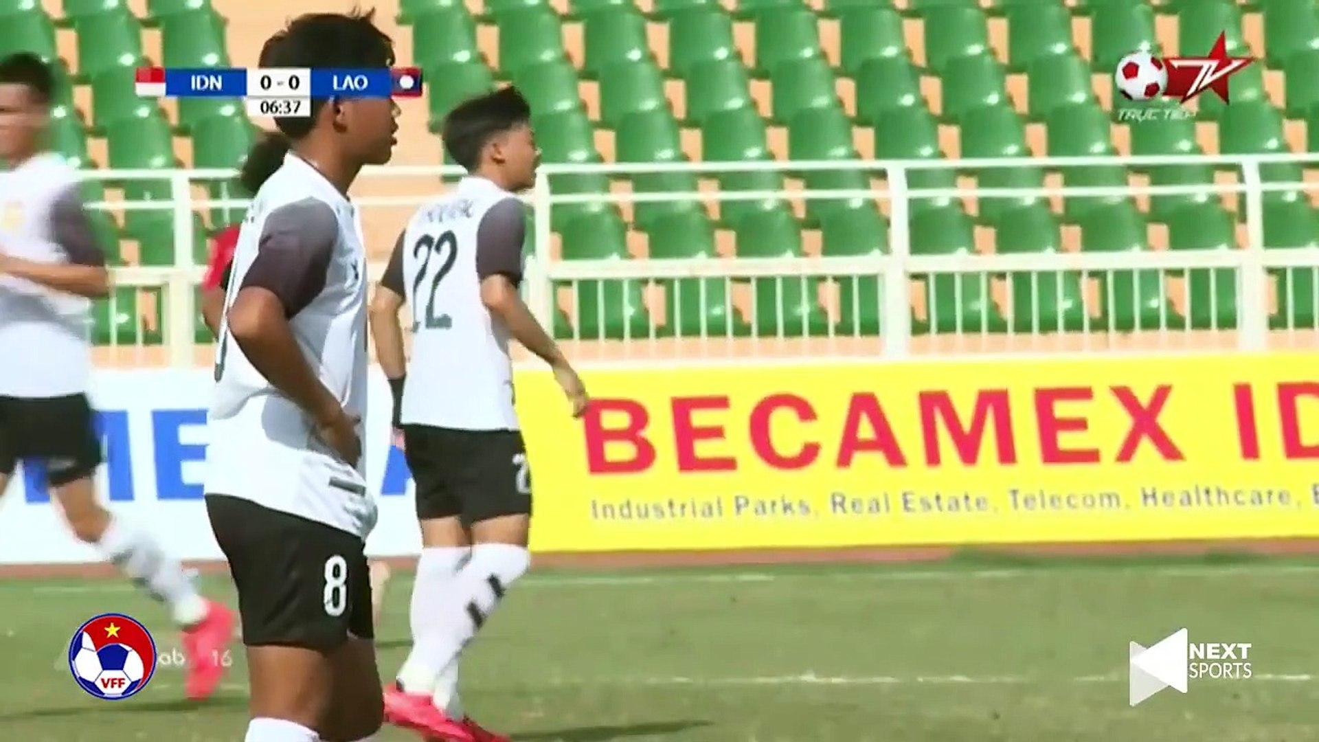 Lội ngược dòng ấn tượng, U18 Indonesia bảo toàn ngôi đầu | VFF Channel
