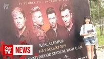 Westlife proves it is still on top of its game at KL concert