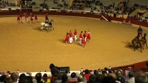 11.08.19 Bayonne Spectacle Recorte  Spectacle Equestre et Danses  Ecurie Fantarago et Compagnie Cubata de Biarritz