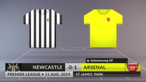 Match Review: Newcastle vs Arsenal on 11/08/2019