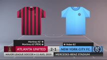 Match Review: Atlanta United vs New York City FC on 11/08/2019