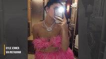Travis Scott gifts Kylie Jenner $500K lipstick-inspired diamond necklace