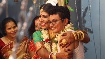 India's first transgender couple tie the knot in traditional Bengali wedding