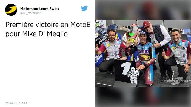 MotoE. Le Français Mike Di Meglio remporte le GP d'Autriche et prend la tête du championnat