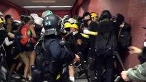 Hongkong: Polizeigewalt gegen Demonstranten