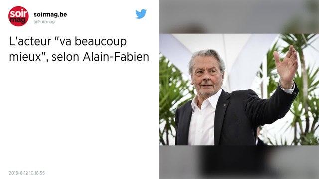 Alain Delon : Son fils Alain-Fabien poste une photo rassurante de l'acteur victime d'un AVC