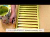 DIY: Window Shutter Organizer