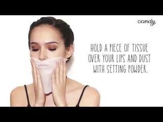 Beauty Crimes: Messy Lipstick