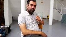 L'artiste Nicolas Daubanes est accueilli  au sein de l'atelier de Lindre-basse près de Dieuze