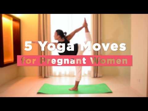 5 Yoga Moves for Pregnant Women