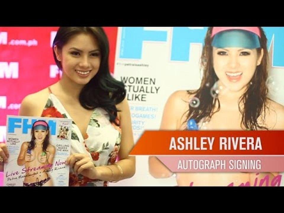 Ashley Rivera's FHM Autograph Signing