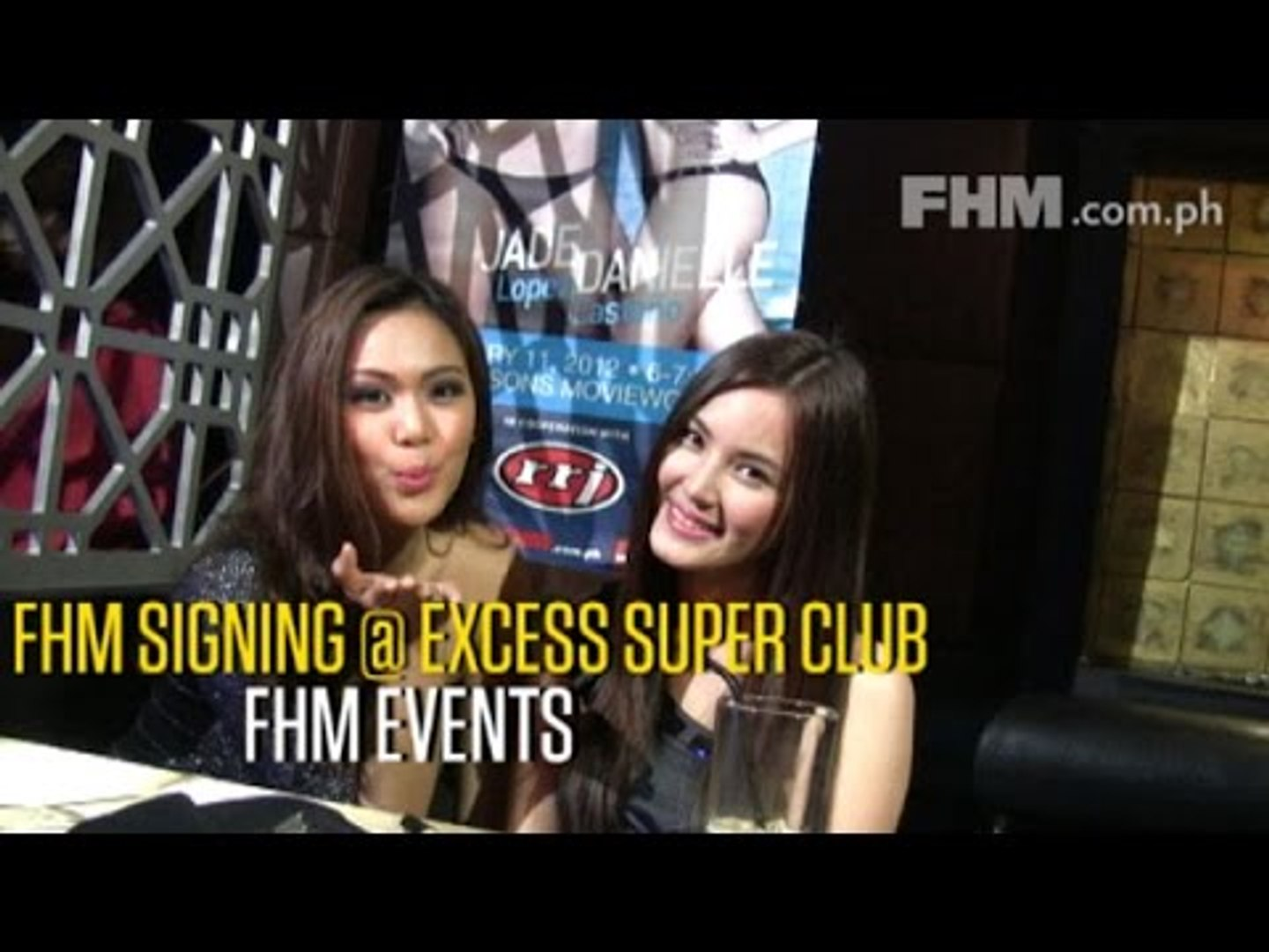 FHM Signing at Excess Super Club - video dailymotion