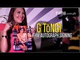 G T�ngi FHM Autograph Signing
