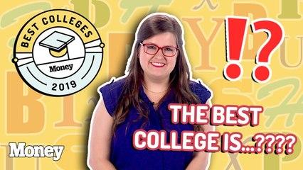 MONEY's Best Colleges 2019/2020 Countdown