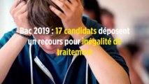 Bac 2019 : 17 candidats déposent un recours pour inégalité de traitement