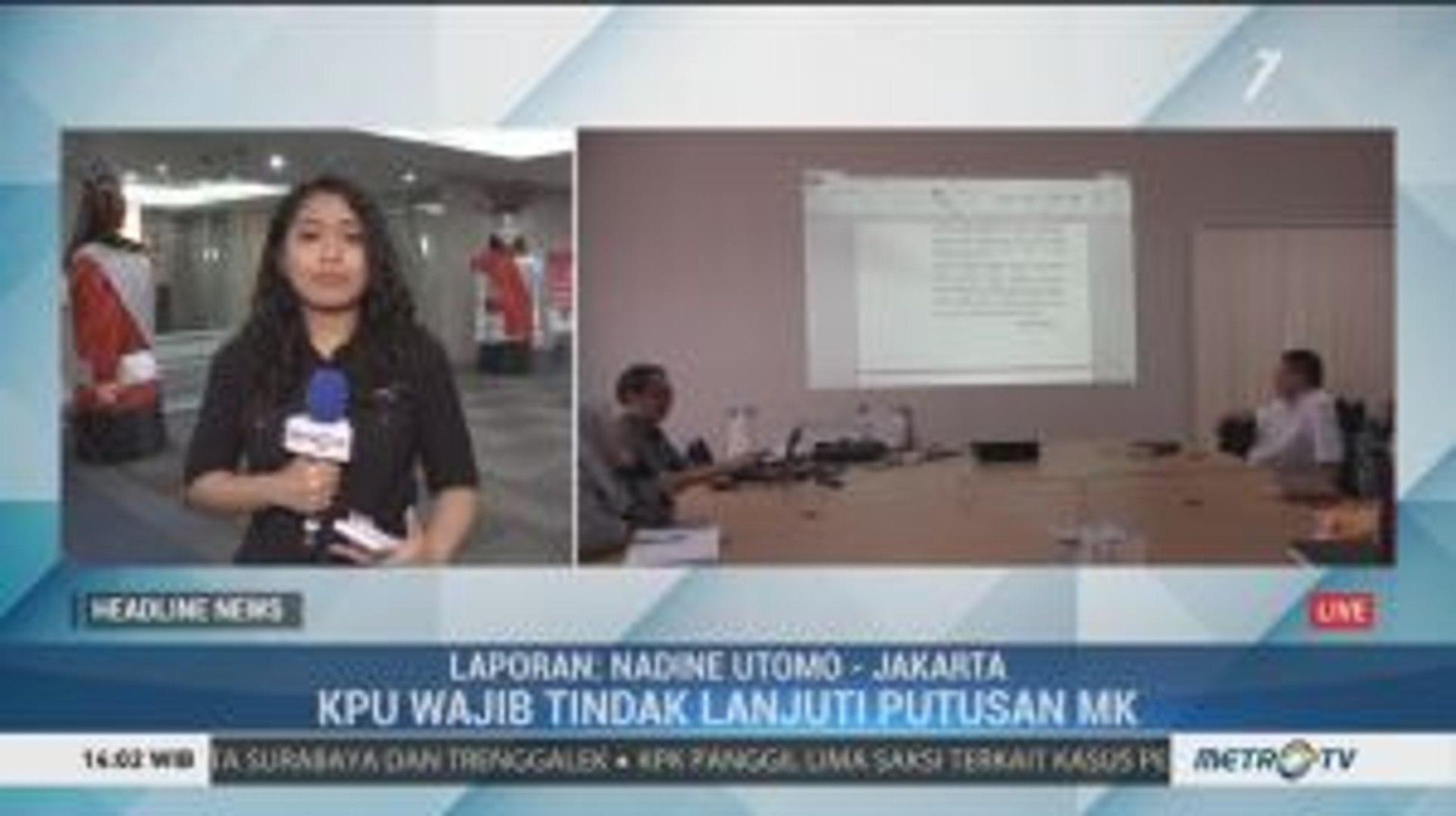Hari Ini, KPU Tetapkan Anggota DPRD DKI Terpilih