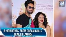 Dream Girl Trailer Launch   Ayushmann Khurrana   Nushrat Barucha