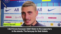 Verratti: 'Our relationship with Neymar hasn't changed'