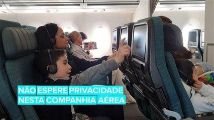 Esta companhia aérea está te vigiando