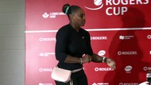 'Back spasms are incredibly painful' say Serena Williams after retiring injured from Rogers Cup