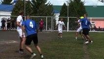 Behind bars footballers Kokorin and Mamaev star in prisoner match