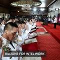 Duterte says he's given billions to PNP for drug war intel work