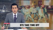 "BTS to take ""extended"" break for the first time since debut"