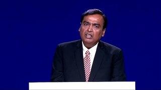 Mukesh Ambani speaks at RIL AGM