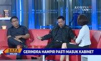 Gerindra Hampir Pasti Masuk Kabinet? Gerindra: Kalau Ada Undangan Masuk Kabinet, Itu Diminta Jokowi