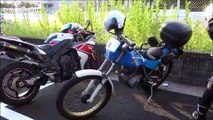 Motorcycles in Japan (RICOLAND parking)