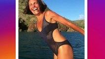 Alessandra Sublet ose le maillot de bain échancré et ça lui va à ravir !