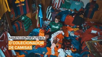 Fanáticos por Futebol: A coleção de camisas de Taras