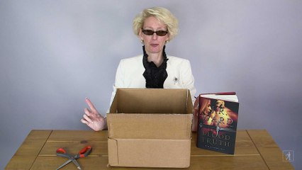 J.R. Ward's Bloody Unboxing Video!