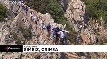 Gary Hunt vence al vértigo y a sus adversarios en el trampolín de Crimea