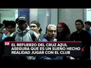 Bryan Angulo ya está en la Ciudad de México