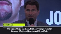(Subtitled) Why Ruiz-Joshua 2 is in Saudi Arabia - Hearn explains reasons behind decision