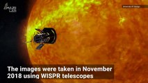 NASA Probe Captures Solar Wind Streaming Out From the Sun
