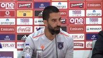 Olympiakos-Medipol Başakşehir maçına doğru - Okan Buruk / Arda Turan (2)