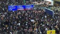Bloccati i voli in partenza da aeroporto Hong Kong