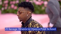 21 Savage's Post Rap Goals