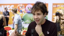 'The Angry Birds Movie 2' Premiere: David Dobrik